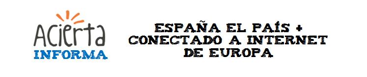 Titular_España el pais mas conectado a Internet de Europa